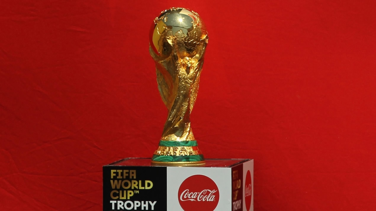 FIFA World Cup trophy returns to Russia