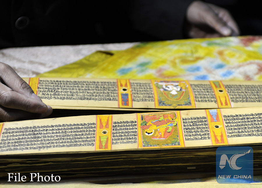 Chinese Embassy donates Cyrillic version of Buddhist classics to Mongolian library