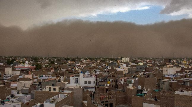 Deadly dust storms kill at least 77 in India