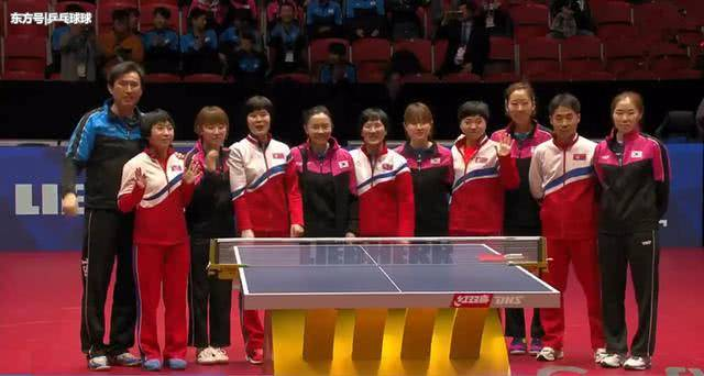 China into table tennis team worlds' semis, Japan to play combined Korean team