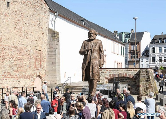 Enthusiasm across Marx's birthplace over bicentennial birth anniversary