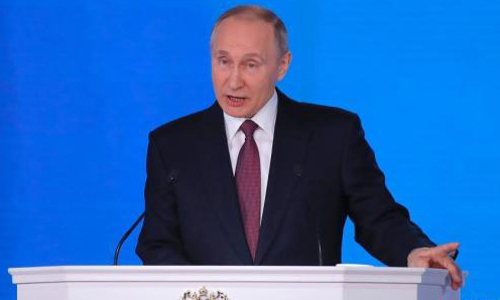 Raising real income of Russian citizens major task for new gov't: Putin