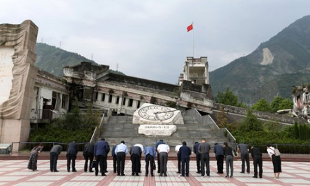 People from around China head to Sichuan to commemorate 10th anniversary of Wenchuan earthquake