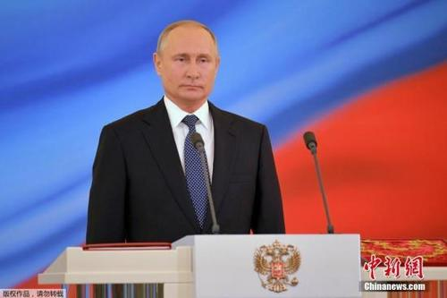 China congratulates Putin on presidential inauguration