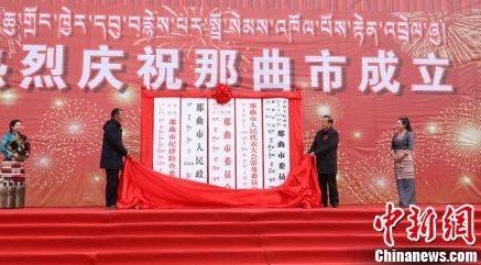 New city inaugurated in China's Tibet