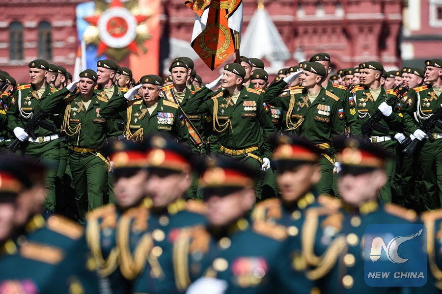 Russia holds military parade to mark WWII victory