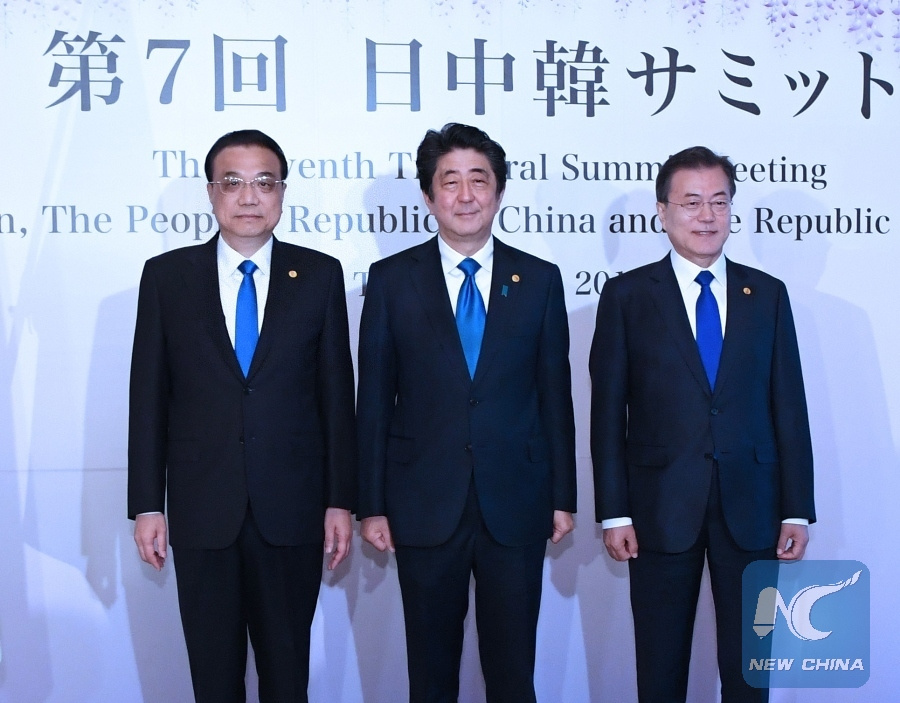 UN chief welcomes China-Japan-ROK leaders' meeting in Tokyo