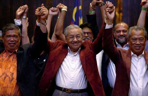 92-year-old Mahathir sworn in as Malaysian PM