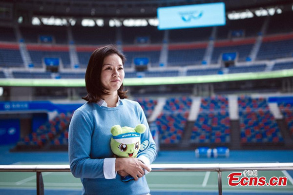 Li Na extends WTA Wuhan Open ambassadorship