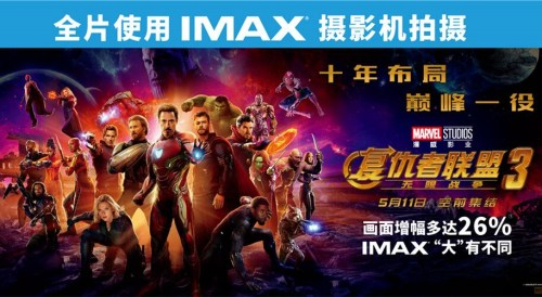 'Avengers: Infinity War' smashes records in China