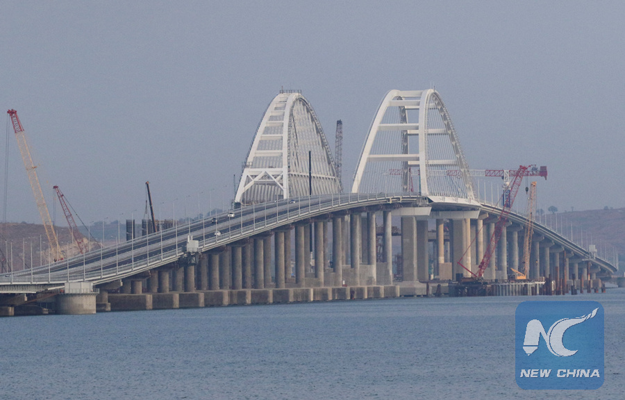 Russia opens criminal case against U.S. journalist who called for blowing up Crimean Bridge