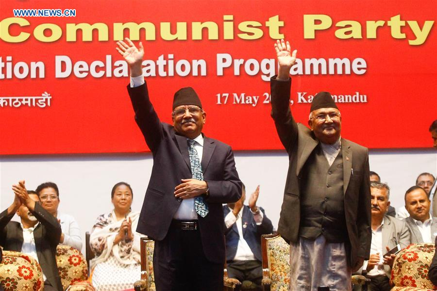 Nepal's two major parties merge to form Nepal Communist Party