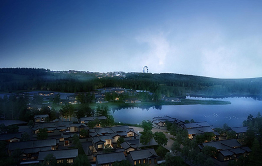 Eastern China town building 'The Sky Eye' to attract world astronomy lovers