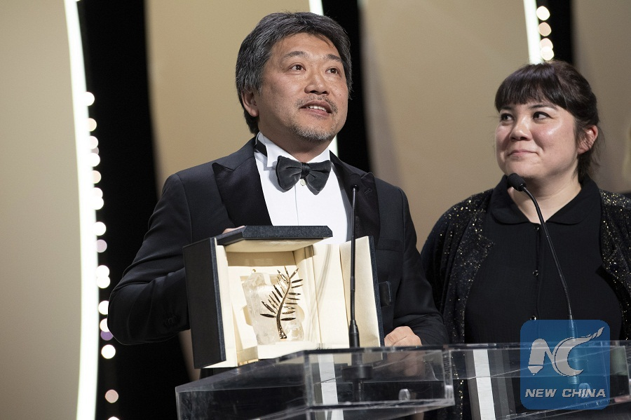 Japanese film 'Shoplifters' wins Cannes' Palme d'Or