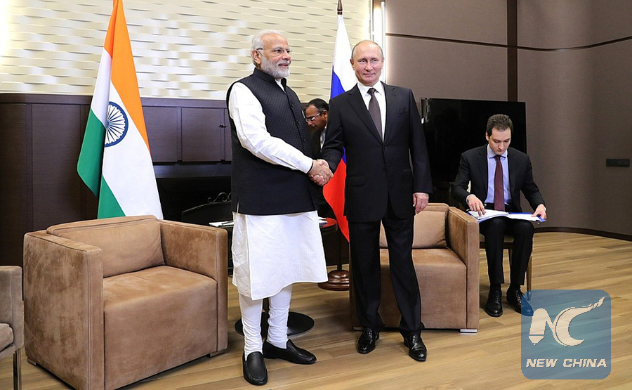 Putin, Modi vow to step up economic, energy cooperation