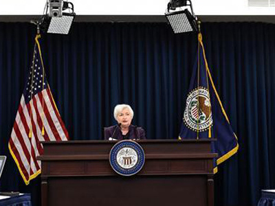 U.S. Fed keeps rates unchanged, setting stage for rate hike by year-end