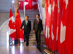 China, Canada agree to strengthen economic, trade ties