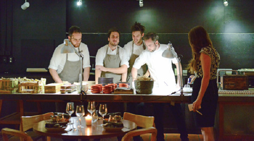 Acclaimed chefs to set up pop-up restaurant