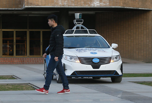 Chinese firms may face hurdles in plans for autonomous taxis