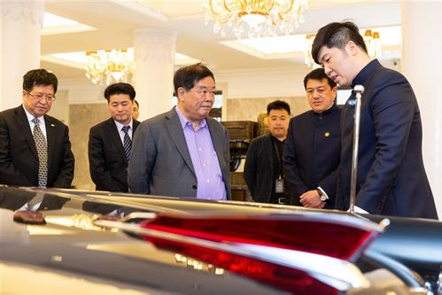 Chinese tycoon buys first customized Hongqi limousine