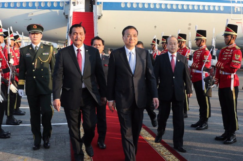 Li to have talks in Indonesia, then will stop in Japan