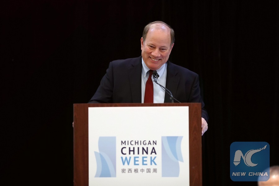 Detroit mayor says Chinese investment is welcome