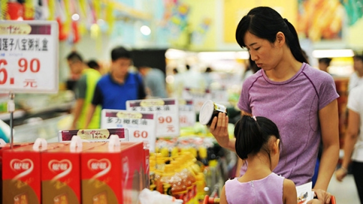 China's CPI up 1.8 pct in April