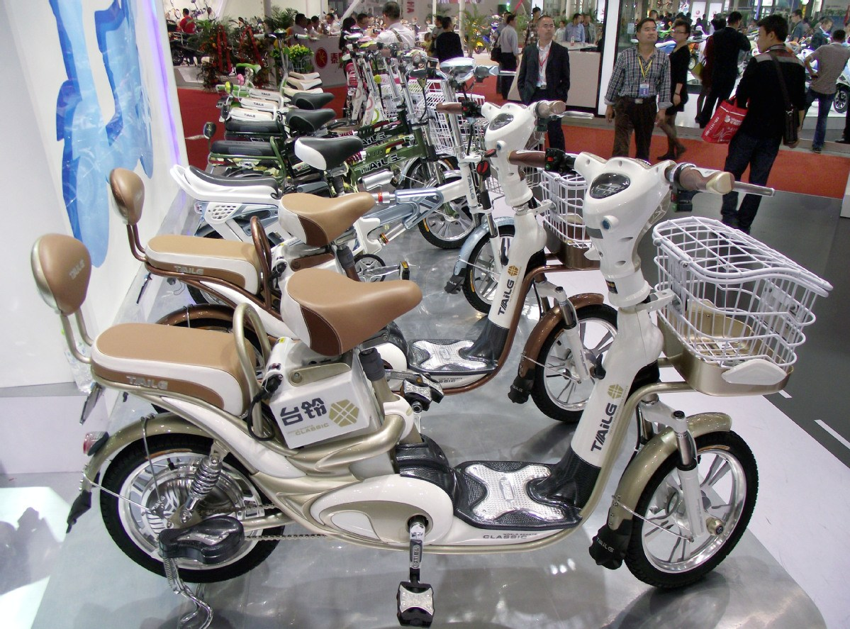 TAILG confident about overseas e-bike sales growth