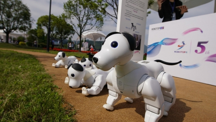 China sees booming robotics industry