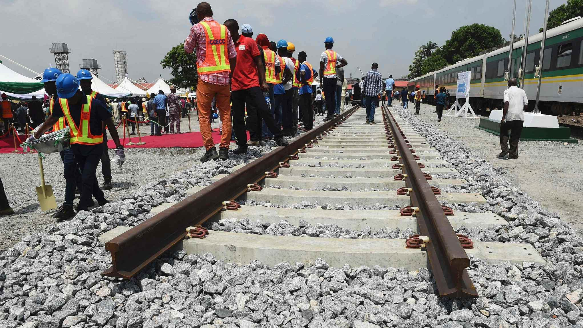 Chinese firm, Nigeria sign $6 bln rail project agreement