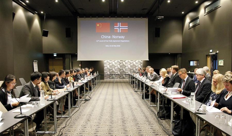 China, Norway make 'positive progress' in free trade negotiations