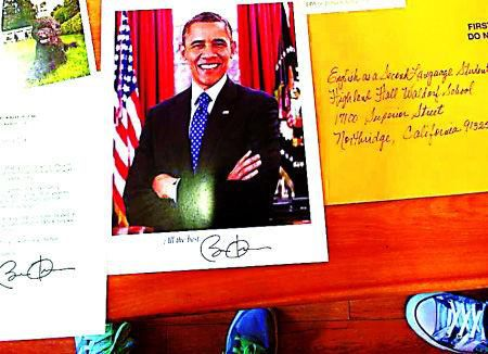 Obama and homework