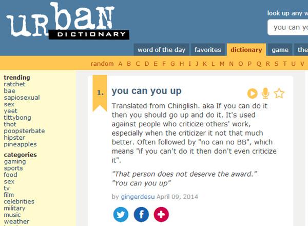 online slang dictionary