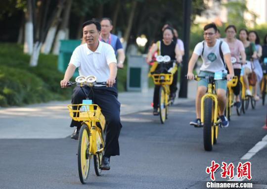 Shared bikes help ease urban traffic congestion: report