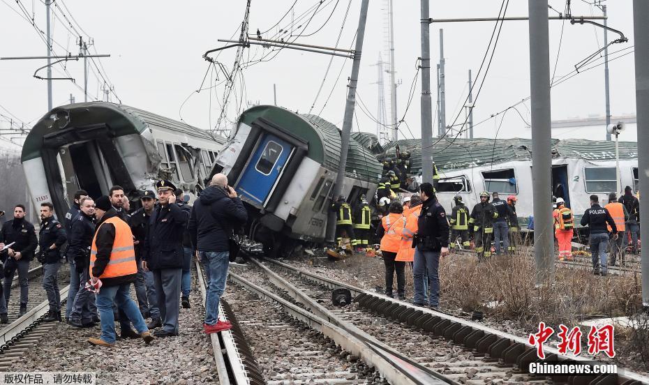 No Chinese casualties in Milan train derailment