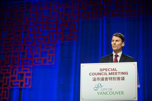 Vancouver mayor apologizes to Chinese community for historic discrimination