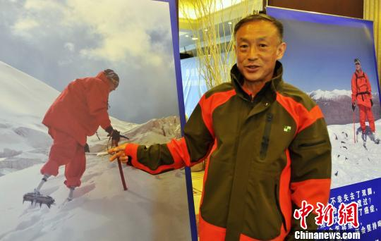 69-year-old double amputee humble after conquering world's highest peak