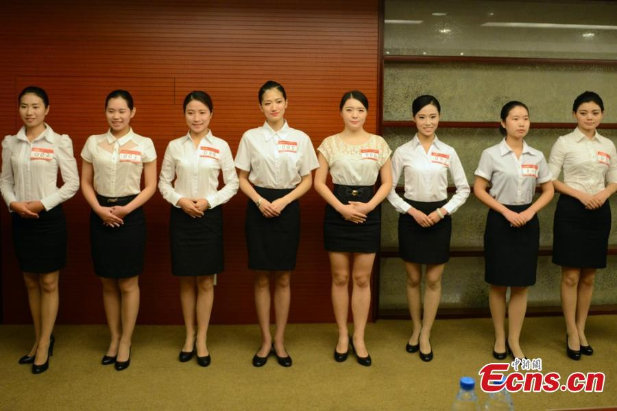young people swarm to apply for flight attendant job29 - Apply For Stewardess Job