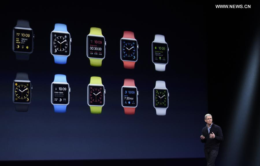 Apple unveils Watch, available later this month in China(2 ...