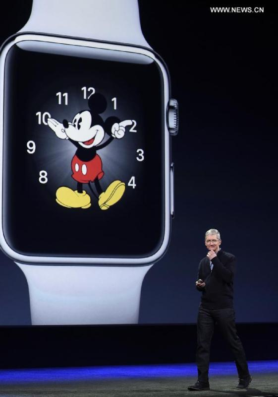 Apple unveils Watch, available later this month in China(5 ...