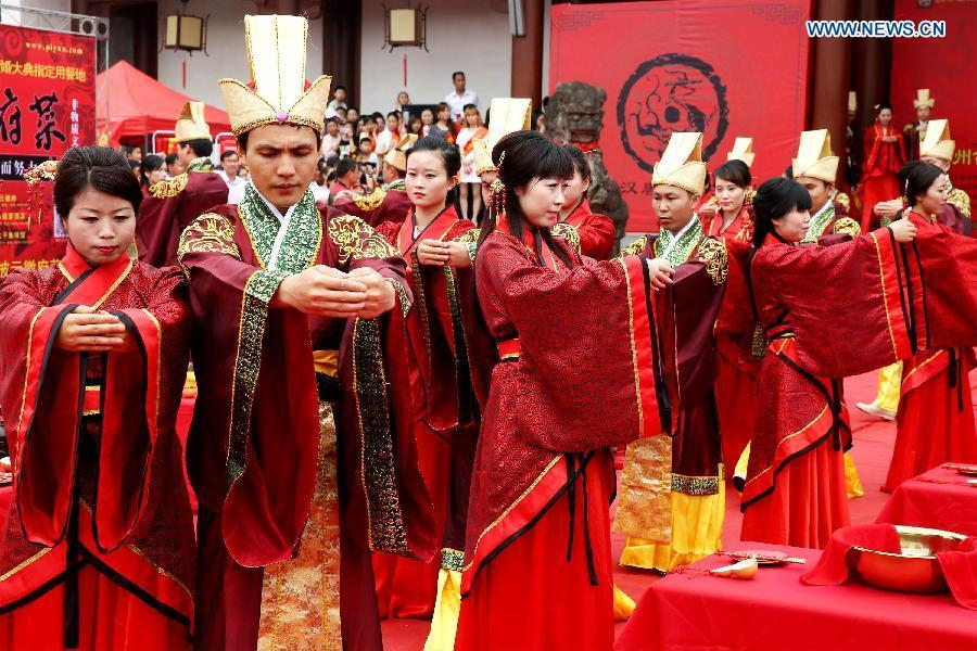 24 Couples Attend Group Wedding Ceremony In E China1 4