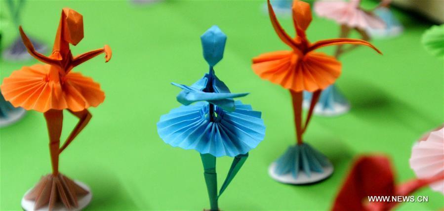 Chinese Folk Art Origami Dancers47