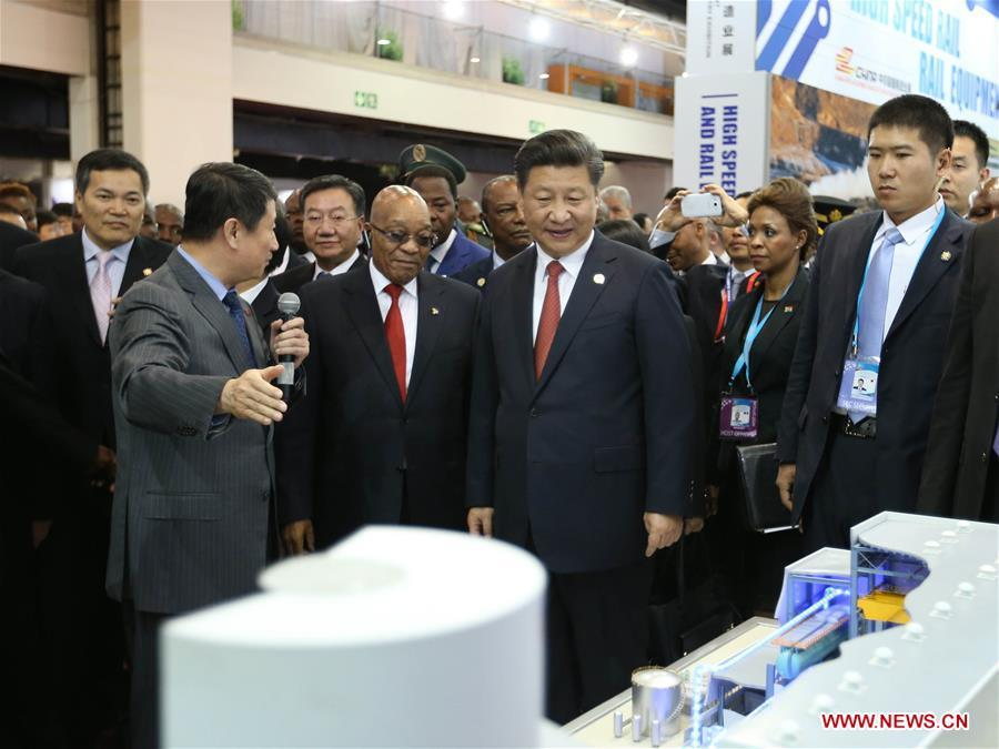Xi visits China-Africa equipment manufacturing industry exhibition