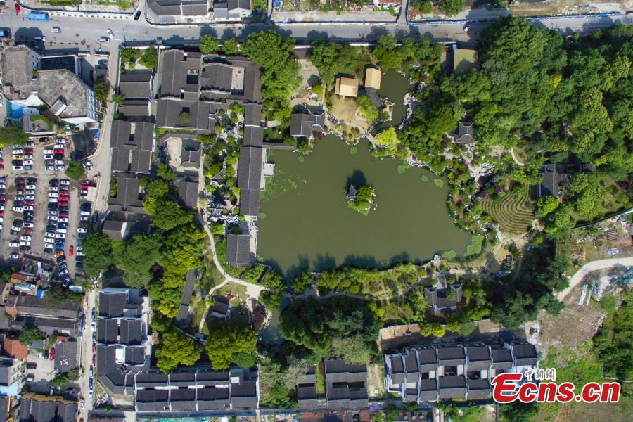 Classic garden Yu Yuan opens to public in Nanjing (2/8)