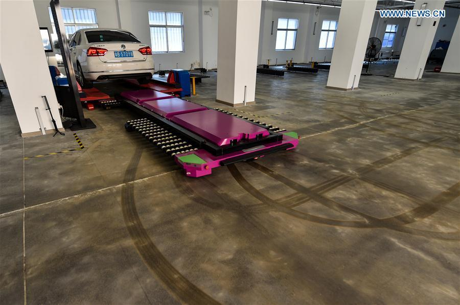 Agv Parking Robot Becomes Internet Hit In China 4 7