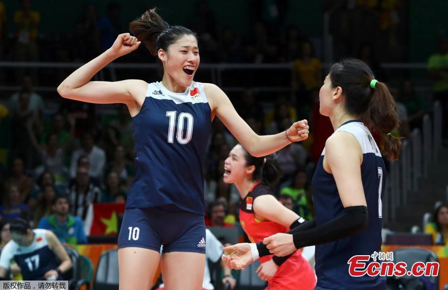 China beats Brazil to Olympic volleyball women's semifinal ...