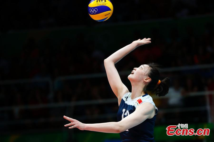 Chinese women's volleyball team beats the Netherlands at ...