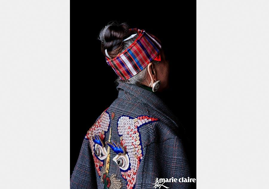 Traditional chinese miao embroidery showcased in new york