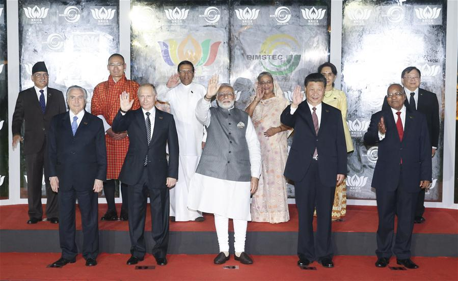 President Xi attends BRICS-BIMSTEC leaders