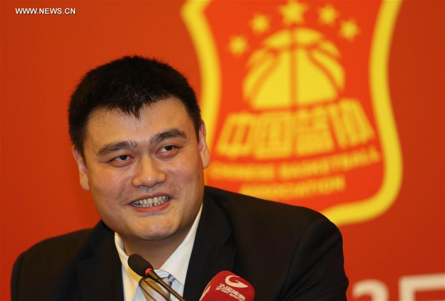 Yao Ming elected president of Chinese Basketball Association (1
